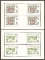 CHECOSLOVAQUIA 1977 - Yvert #2251/52 (Minipliego) - MNH ** - Checoslovaquia