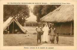 Mai13 2031 : Léopoldville  -  Franciscaines Missionnaires De Marie En Mission  -  Maladie Du Sommeil - Kinshasa - Léopoldville