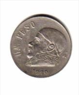 MEXICO    1  PESO 1970  (KM # 460) - Mexico