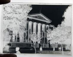 Nimes En 1910 - Palais De Justice -  RARE Plaque De Verre Photo - Glasplaten