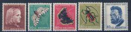Schweiz Michel No. 588 - 592 ** postfrisch