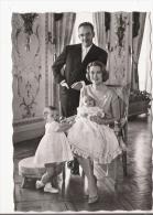LL AA SS LE PRINCE RAINIER LA PRINCESSE GRACE  LE PRINCE ALBERT LA PRINCESSE CAROLINE - Familles Royales