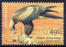 Australia 2001 Birds Of Prey 49c Wedge-tailed Eagle Used  SG 2140 - Gebraucht