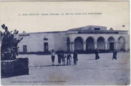 Maroc  Bou Denib Le Bar Du Centre Et Le Ciné Concert - Morocco