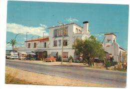 "Alcanar (Espagne, Cataluna) : Hôtel Restaurant ""Biarritz"" En 1960 (animé). - Autres"