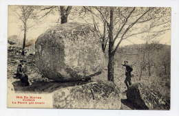 K24 - En Morvan - UCHON - La Pierre Qui CROULE (carte Animée) - Altri Comuni