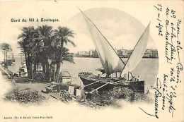 Egypte - Ref A199- Bord Du Nil A Boulaque -carte Bon Etat  - - Egypt