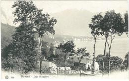 CARTOLINA - BAVENO - LAGO MAGGIORE - VIAGGIATA NEL 1912 - Verbania