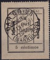 GUERRA CIVIL - DAR DRIUS - SUBSIDIO PARO OBRERO - SOFIMA Nº 1 - MUY RARO - Viñetas De La Guerra Civil