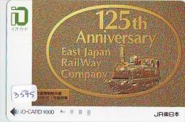 Carte Prépayée  Japon * TRAIN * IO * CARD  (3595) Japan Prepaid Card * ZUG * Karte * TREIN * JR * - Treni