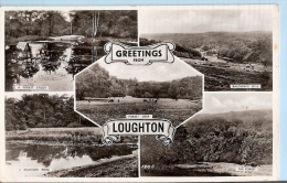 Essex Postcard - Greetings From Loughton     A3318 - Other