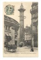 Cp, 75, Paris, La Bourse De Commerce, Observatoire De La Tour De Médicis, Voyagée - Non Classés