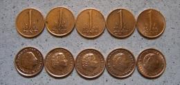 Kleines Münzlot - 1 Cent Niederlande Ab 1953 Bis 66               (J40) - [ 3] 1815-…: Königreich Der Niederlande