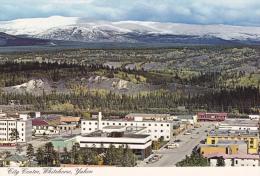 Aerial View,  City Centre,  Whitehorse,  Yukon,   Canada,  50-70s - Yukon