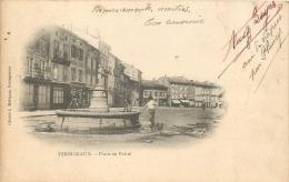 43 YSSINGEAUX PLACE DU FOIRAIL CARTE RARE - Yssingeaux