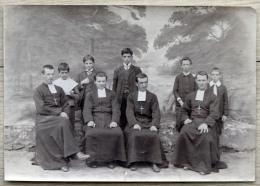 Bresil Brasil - Colégio Diocesano Marista São José - Tijuca, Rio De Janeiro  1913  Groupe D'élèves Et De Professeurs - Places