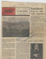 A. Bologne-Lemaire, Institut Jules Destr�e, Nalinnes Charleroi, 11-6-1968, 600 franchimontois