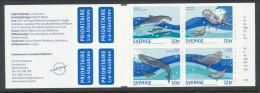 Sweden 2010 Facit #: H583. Sea Animals.  MHN (**) - Cuadernillos/libretas
