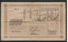 FINLAND -  1.000 MK  1922 - Finland