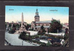40355    Germania,    Worms -  Ludwigs-Platz,  NV(scritta) - Worms