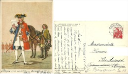 Régiment Suisse De May, Ordonnance De 1728 - Histoire