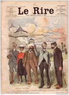 REVUE LE RIRE - AOÛT 1903 - N° 27 - VOYAGES CIRCULAIRES - ILLUSTREE PAR HUARD , BURRET - Books, Magazines, Comics