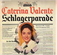 * LP *  CATERINA VALENTE - SCHLAGERPARADE (USA 1958 EX-!!! Rare!!!) - Disco, Pop