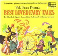 * LP *  WALT DISNEY Presents BEST LOVED FAIRY TALES - Kinderen