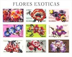 MBP-BK3-174 MINT ¤ MOCAMBIQUE 2000 9w In Serie ¤ FLOWERS OF THE WORLD - FLEURS - BLÜMEN - BLOEMEN - FLORES - - Ohne Zuordnung