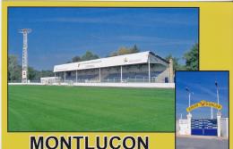 FOOTBALL  CP   STADE  DUNLOP  MONTLUCON  03 - Soccer