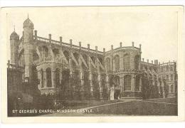 I256 Windsor Castle - St. George's Chapel -  Castello Schloss Chateau Castillo / Non Viaggiata - Windsor Castle