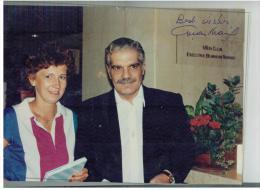 Omar SHARIF - Autogramme