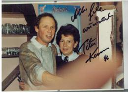 Peter KRAUS - Autographs