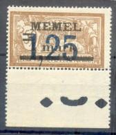 MEMEL Nr 50 ABART I**POSTFRISCH BPP (69414 - Klaipeda