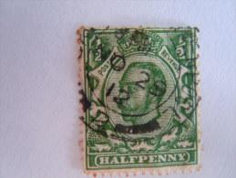 Groot Brittanië Grande-Bretagne Great Britain 1911 George V Filigrane Crown Yv 131 O - 1902-1951 (Koningen)