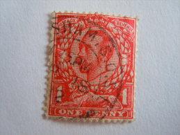 Groot Brittanië Grande-Bretagne Great Britain 1911 George V Filigrane Crown  Yv 132 O - 1902-1951 (Koningen)
