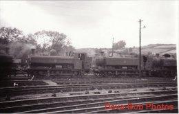 Railway Photo GWR 57xx 3603 Exeter 1957 94xx 0-6-0PT Loco - Trains