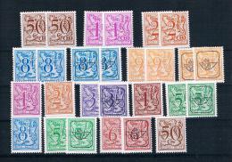 Belgien Kleines Lot Von 26 Werten ** - Sammlungen