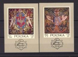 Pologne  -  Blocs  -  1970  :  Mi  43-44  ** - Blocks & Sheetlets & Panes