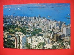 """A Bird""""s Eye View Of Central District - Cina (Hong Kong)"""