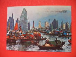 Floating People In Castle Peak Bay - Cina (Hong Kong)