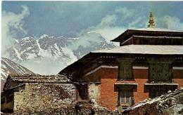Népal. Le Mont Everest Vu Du Monastère De Thyanboche Dans L'Est Du Népal. - Nepal