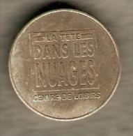 HEAD IN THE CLOUD, LEISURE CENTRE,LA TÊTE DANS LE NUAGE,CENTRE DE  LOISIRS,FRANCE TOKEN,JETON,GETTONE - France
