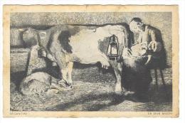 I270 Le Due Madri - Giovanni Segantini - Annullo Capo Di Ponte (Brescia) / Viaggiata 1932 - Paintings