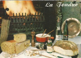 CPSM La Fondue - Recipes (cooking)