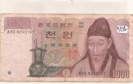 Billets - B831 -  Corée Du Sud  - Billet   ( Type, Nature, Valeur, état... Voir 2 Scans) - Corée Du Sud