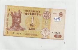 Billets - B830 -  Moldavie   - Billet   ( Type, Nature, Valeur, état... Voir 2 Scans) - Bankbiljetten