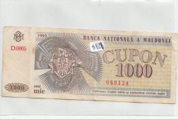Billets - B828 -  Moldavie   - Billet   ( Type, Nature, Valeur, état... Voir 2 Scans) - Bankbiljetten