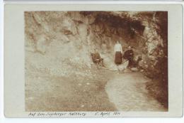 Carte-photo Bon Etat , Allemagne ,  Montagne Calcaire Platre , Lire Au Recto - Bad Segeberg