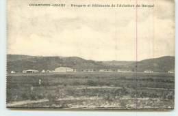 OUBANGUI-CHARI   - Hangars Et Bâtiments De L'aviation De Bangui. - Aérodromes